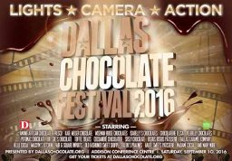 "Dallas Chocolate Festival - ""Lights, Camera, Action!"""