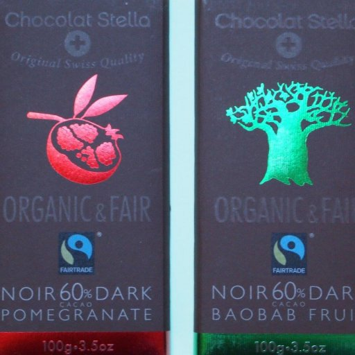 Chocolat Stella Pomegranate and Baobab Fruit