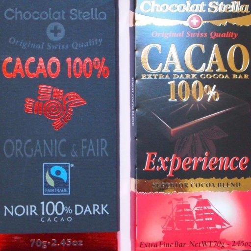 Chocolat Stella cacao 100%