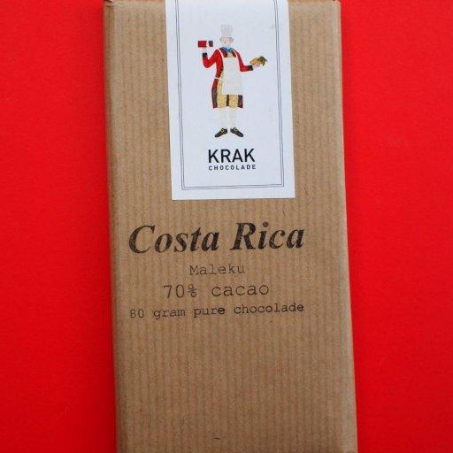 Krak Chocolade Costa Rica Maleku 70%