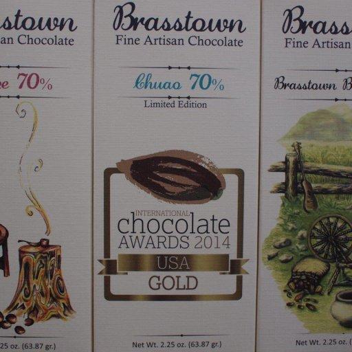 Brasstown Belize 70%, Chuao 70% and Blend 85%