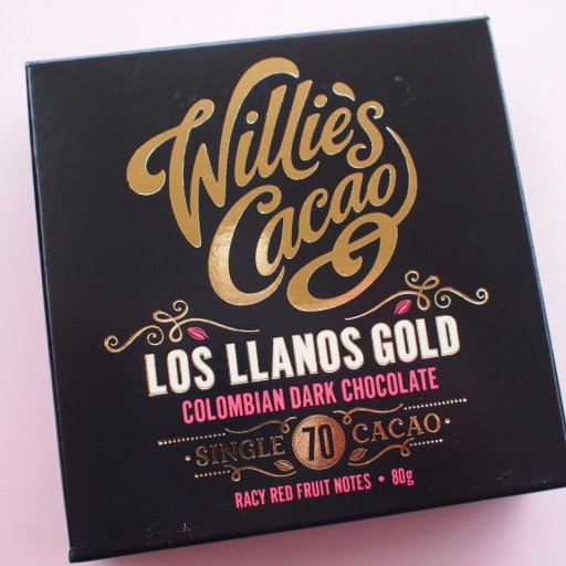 Willie's Cacao Los Llanos Colombia 70%