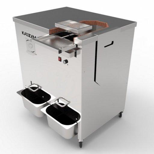 Crusher with winnower Дробилка с сепаратором для какао бобов