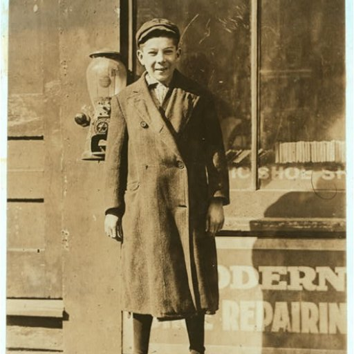 Ryme Sylvester, Factory Worker Age 15 (1910)