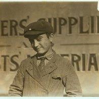 Joseph Giordano, Factory Worker Age 14 (1910)