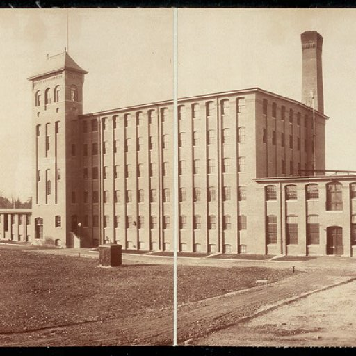 Panorama Photo of Lowney's Chocolate Factory (c1903)