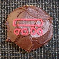 Maya number 9 Cupcake