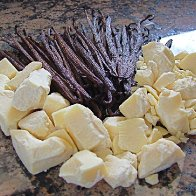 Cocoa Butter and Vanilla Pods