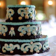 Chocolate Fudge Wedding Cake