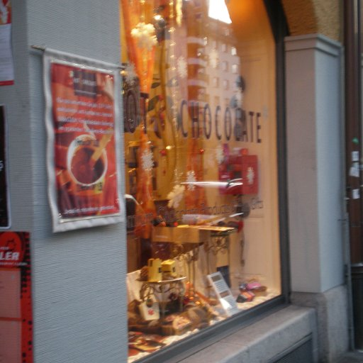 Hot Chocolate, a cute shop for excellent chocolates in Luzern