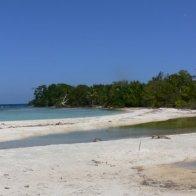 Snake Caye Beach View