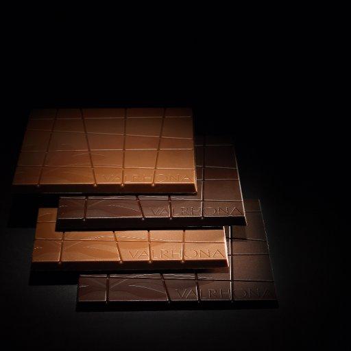 bars of milk & dark chocolate