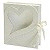 White Heart Window Box