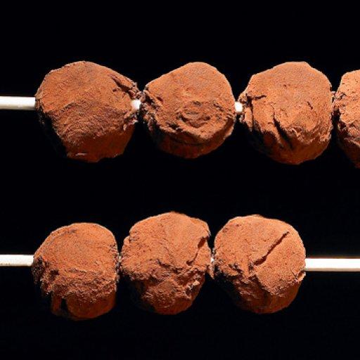 Dark chocolatetruffels