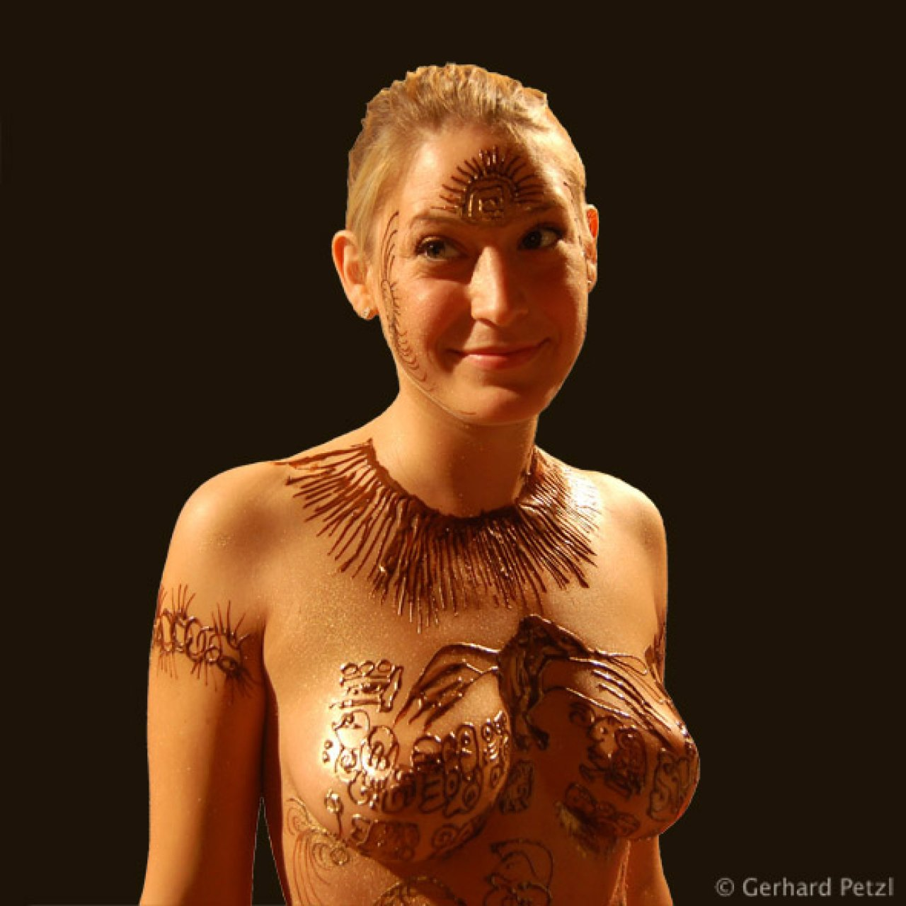 Chocolate Body Painting Emergence Of Writing - Galleries ...