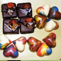 Fun colored chocolates!