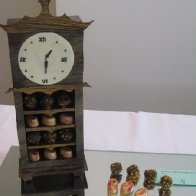 chocolate clock for comp