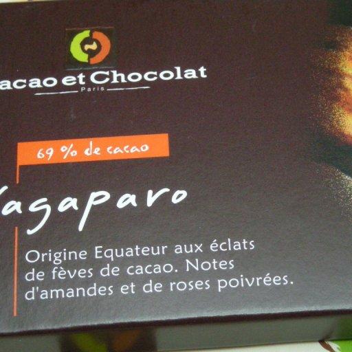 Cacao et Chocolat Paris: Yagaparo 69% de cacao