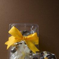Boxed Mango Orchid Bouquet