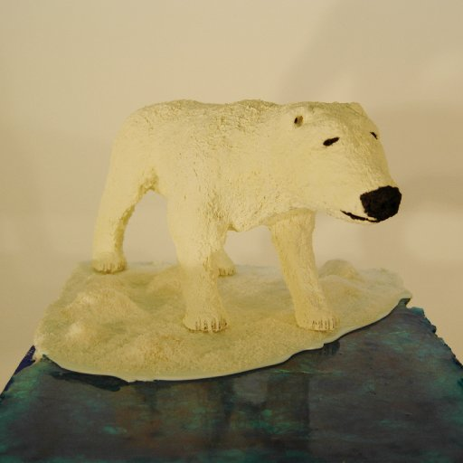 Eisbär Leo