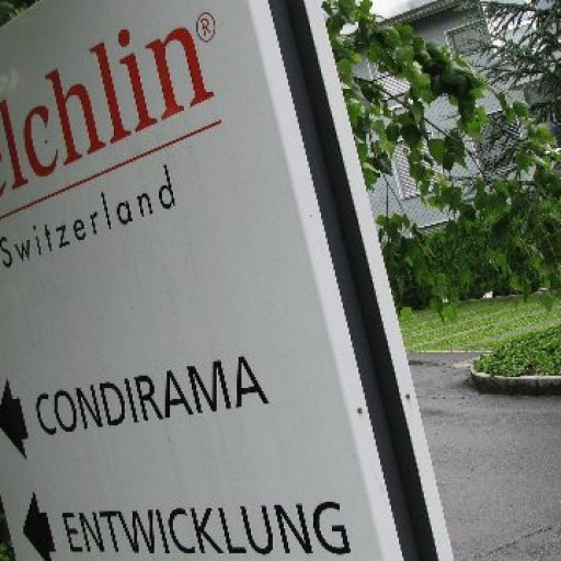 Sign announcing the Felchlin Condirama School
