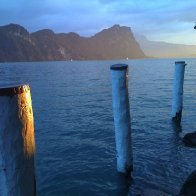 Sunset on Lake Luzern
