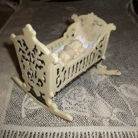 white chocolate  cradle