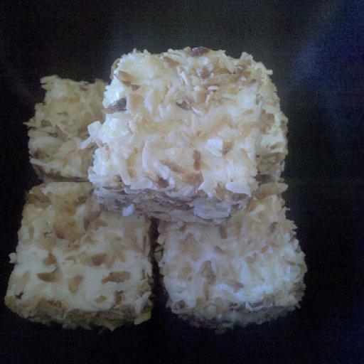 Vegan organic toasted coconut Marshmallows