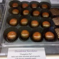 Pumpkin Pie Chocolates 2010
