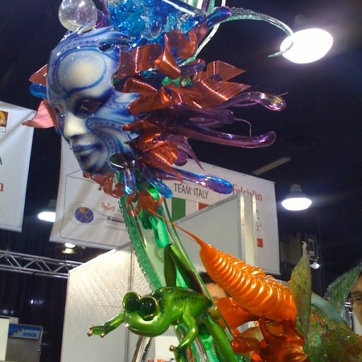 Team USA's Sugar Showpiece at the 2008 World Pastry Team Championship