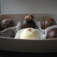 Valentines orders truffles