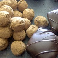 Vegan Truffles and marshmallows