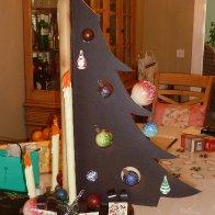 A Christmas tree of chocolate