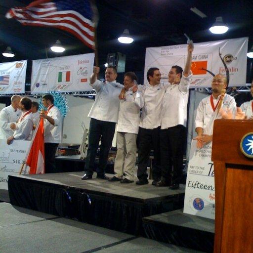 Team USA wins Gold, Degustation, and Best Sugar Showpiece