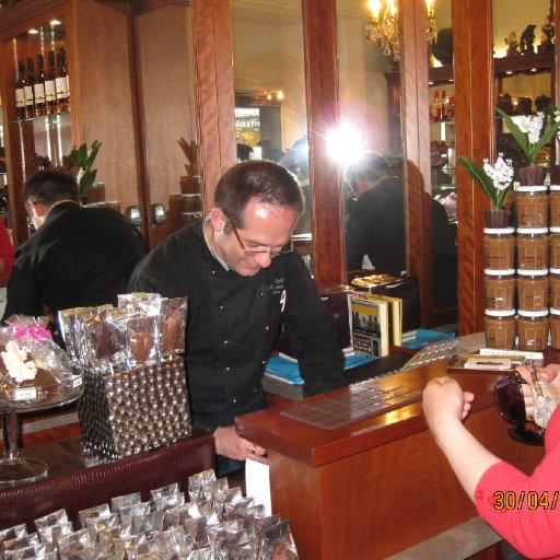 Jean-Charles Rochoux's cosy chocolate shop