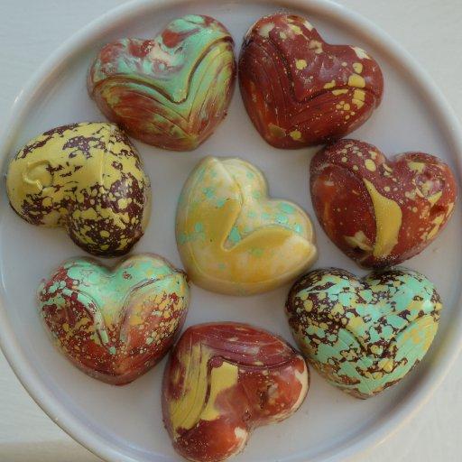 V-day hearts