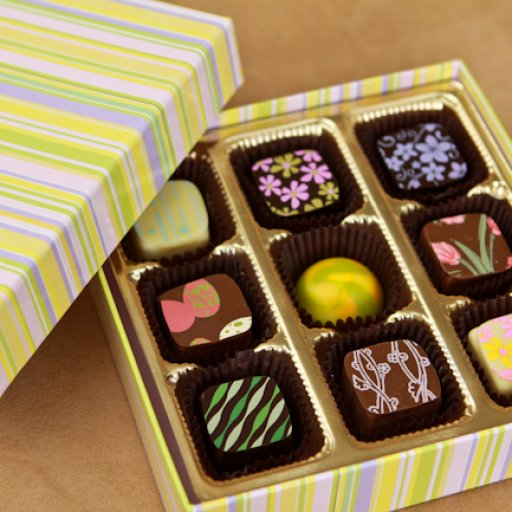 Spring chocolates