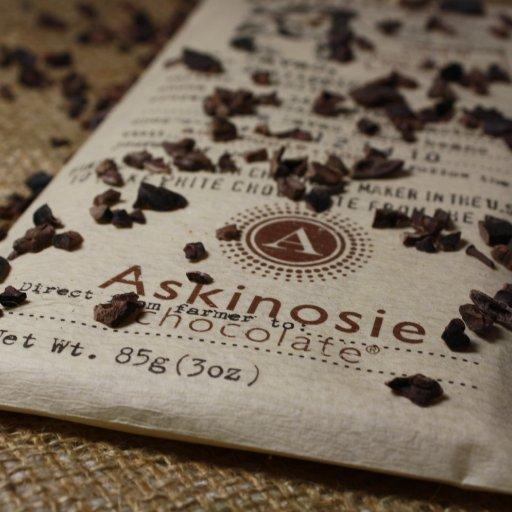 Askiniosie White Chocolate Nibble Bar