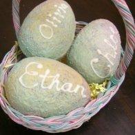 Large custom Easter Eggs