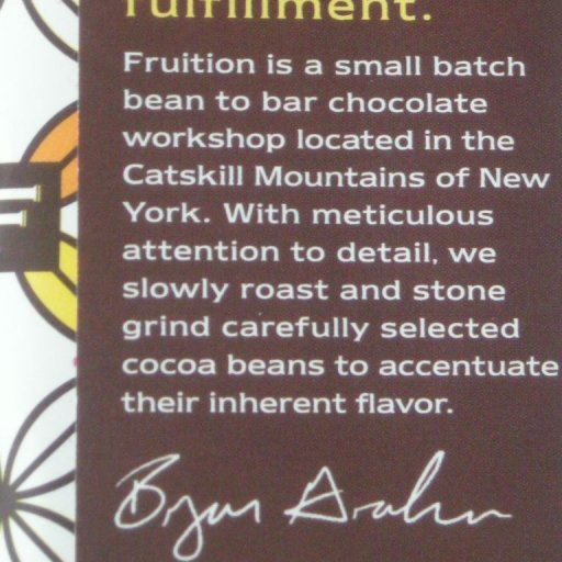 Fruition Chocolate by Bryan Graham