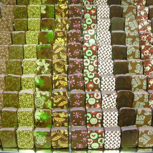 Some of the April collection chocolates