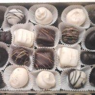 20 piece Assortment of truffles & Creams w/ liquer