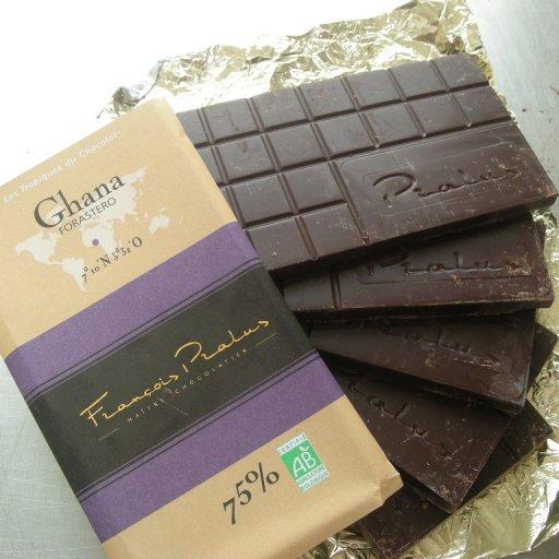 Ghana Pralus to make chocolates.