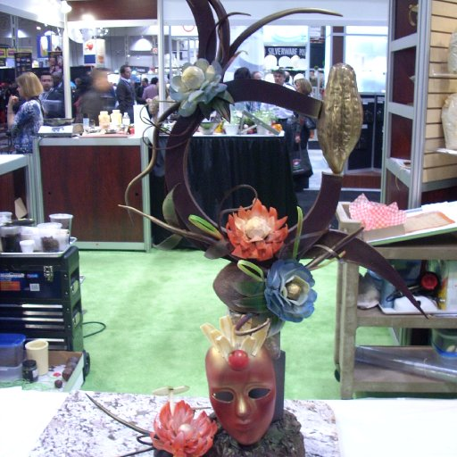 CRFA 2012 Showpiece Demo at Barry Callebaut Booth
