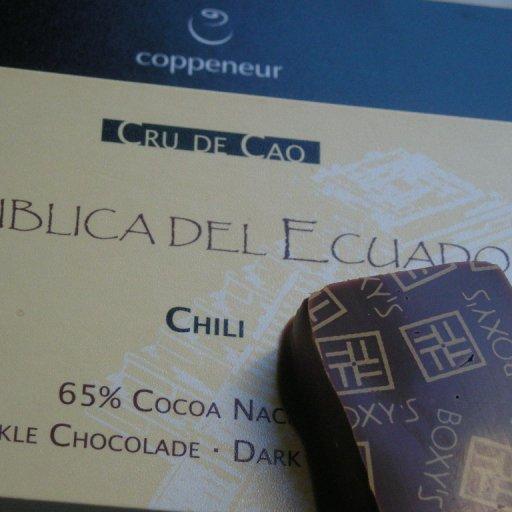 Coppeneur 65% dark Chili & Cru Sauvage Bolivia 38 % - 48 h