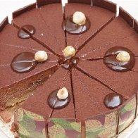 Geert's Chocolate Cake: Daintree Chocolate Mousse