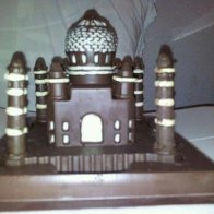 taj mahal made of chocolate