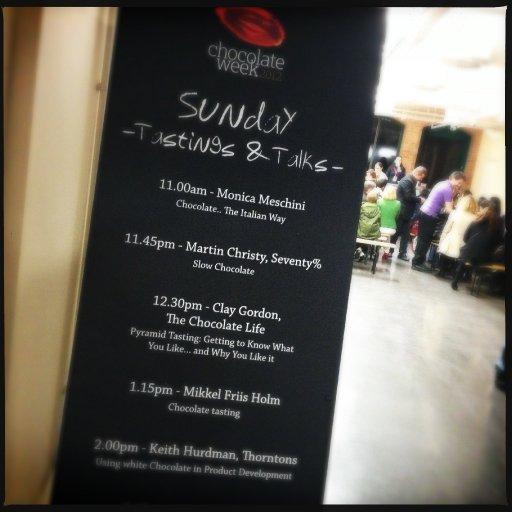 ChocolateWk2012 - Sunday Program