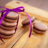 Chocolate Macaroons by Dessert Bites