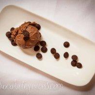 Valrhona chocolate custard